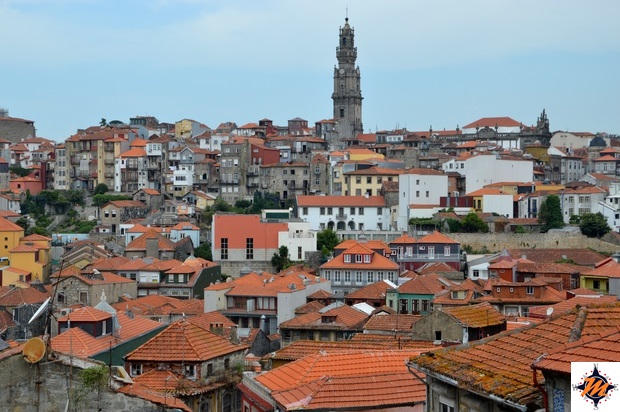 Oporto, vista dalla Cattedrale