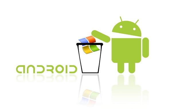 Smartphone Android Membuat Pendapatan Microsoft Menurun