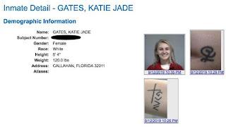 Katie Jade Gates Charged