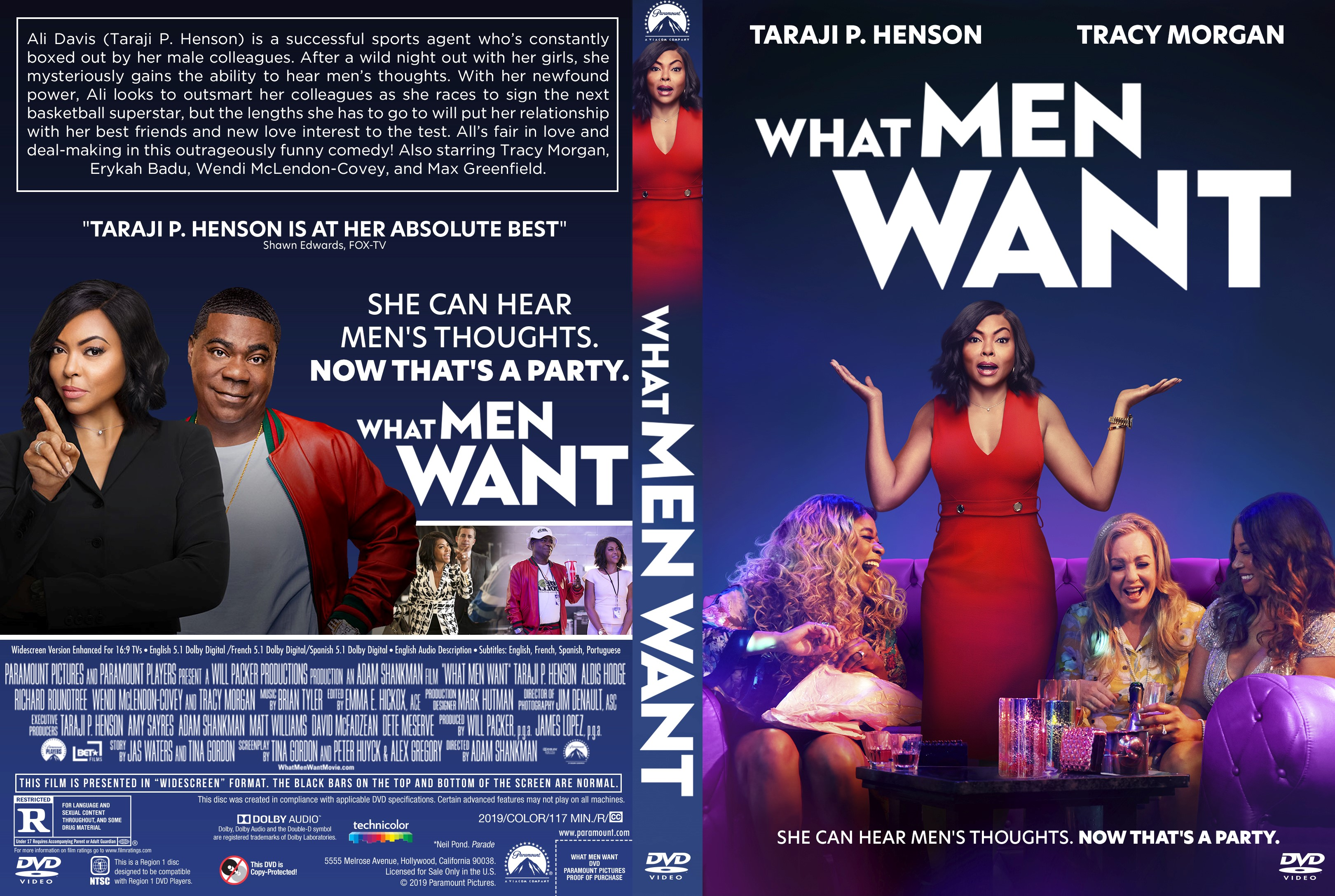 What Men Want DVD Cover | Cover Addict - Free DVD, Bluray ...