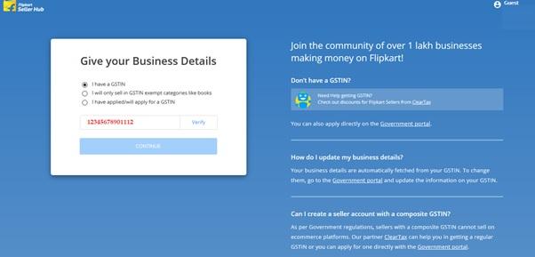 Small-Business-Ideas-Namum-Business-Seiyalaam-www.satyamcs.com-www.smallbusinessideas.com-how-to-register-flipkart-seller-account-flipkart-seller-hub-GSTIN-details-page-6