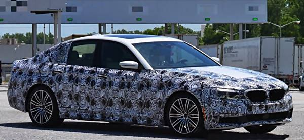 2017 BMW 5 Series G30: Premiere Officially Confirmed for October 13
