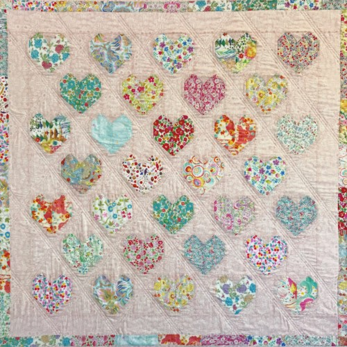 Love Liberty Quilt - Tutorial