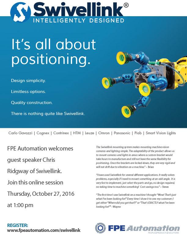 FPE Automation, Inc : 2016