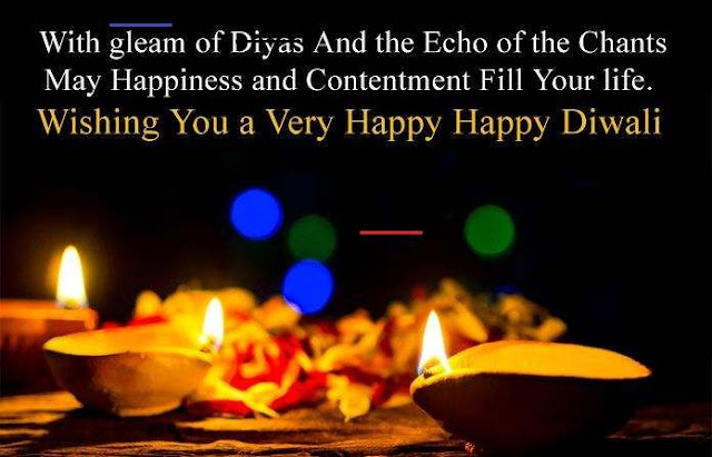 Diwali Wishes Messages Wallpaper 2020