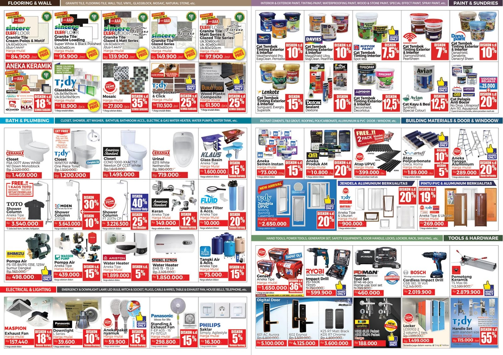 #Mitra10 - Promo Katalog New Year Sale 2019 (s.d 13 Jan 2019)