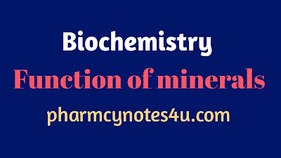 Function of a mineral, function of mineral , function of minerals and Vitamins