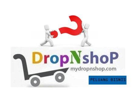 cara daftar Bisnis DropNshop
