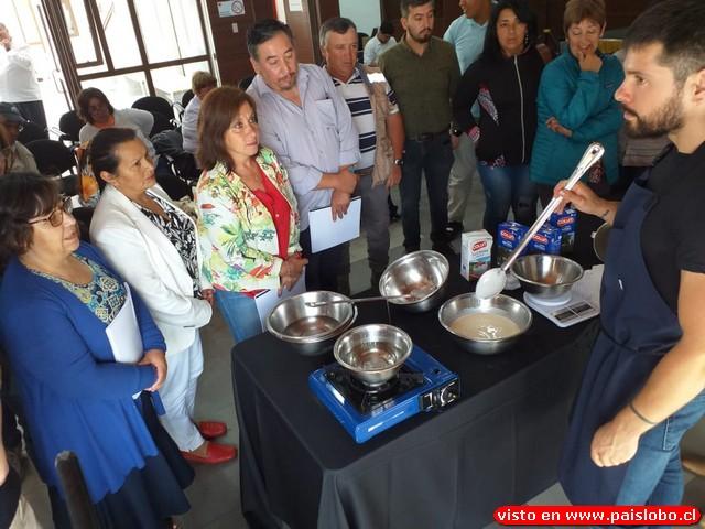 INIA capacita a pequeños productores de quesos de la Región de Los Ríos