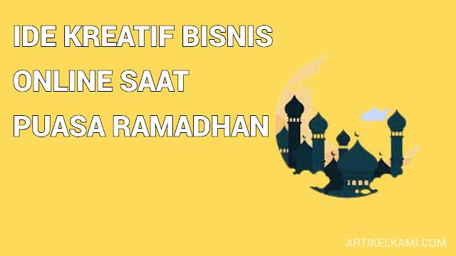 ide kreatif bisnis online saat puasa ramadhan
