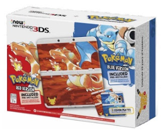 New Nintendo 3DS XL - pokemon