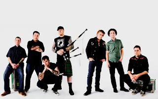 Photo des membres du groupe Dropkick Murphys