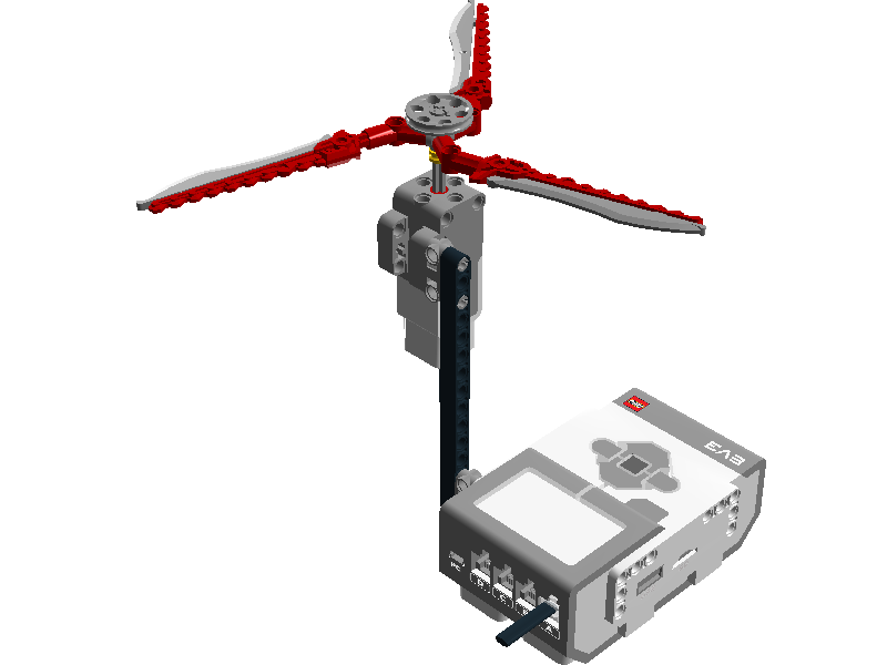 Easy projects for Lego Mindstorms EV3 Robot: EV3 Coco-Turbine Robot