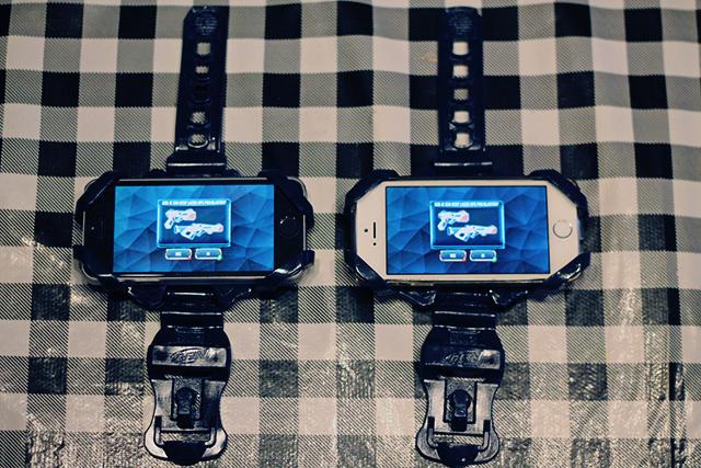NERF Laser Ops Pro telefoonhouders
