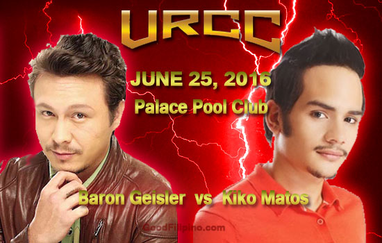 Baron Geisler vs Kiko Matos: URCC Challenge Accepted on June 25, 2016