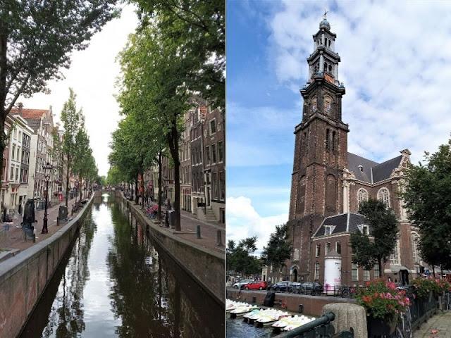 centro storico Westerkerk Amsterdam
