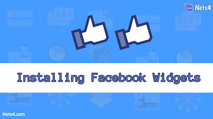 How to Install Facebook widgets on your blog?