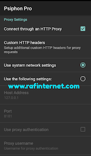Cara Menggunakan Psiphon Pro By U Kuota Topping Whatsapp dan Instagram Unlimited