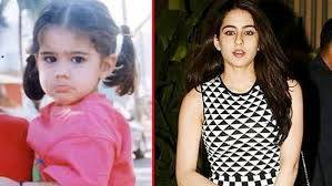 Sara Ali Khan Childhood Picture