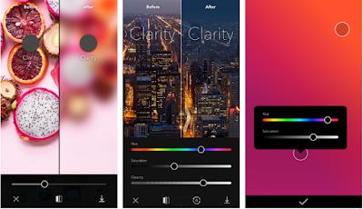 برنامج clarity للتعديل على الوان الصور للأيفون اخر اصدار 2018