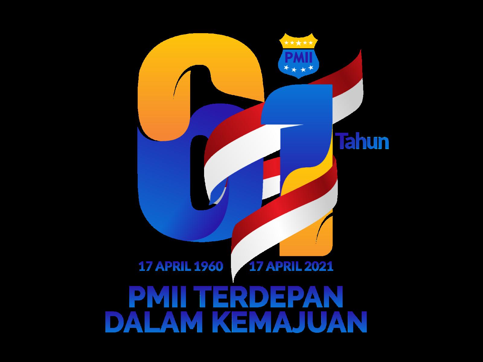 Logo Harlah PMII ke 61 Tahun Format PNG