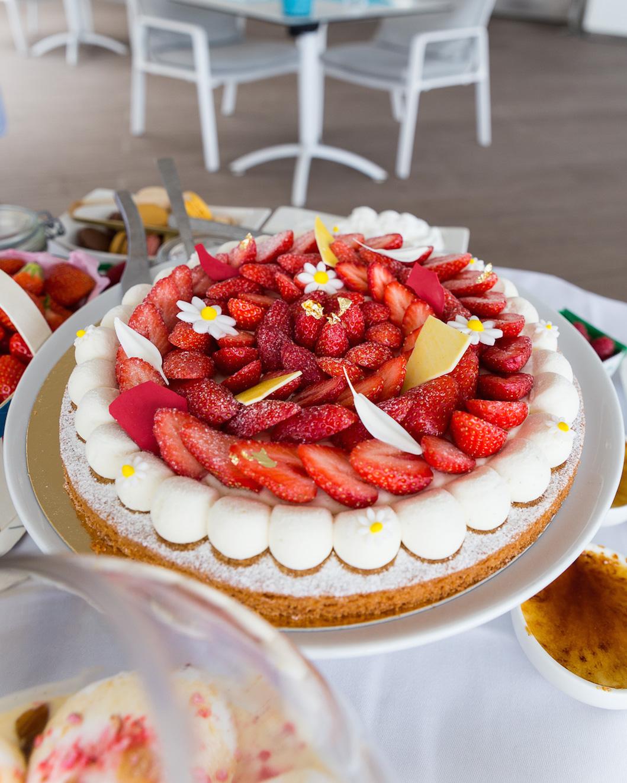 tarte aux fraises Cannes