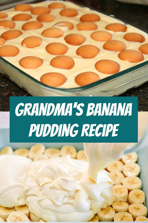 Grandma's Banana Pudding Recipe - I cannot stress enough that if you make this, you will never want to make another banana pudding recipe, ever... It's the BEST! #bananapudding #pudding #banana