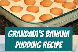 Grandma's Banana Pudding Recipe #bananapudding #pudding #banana