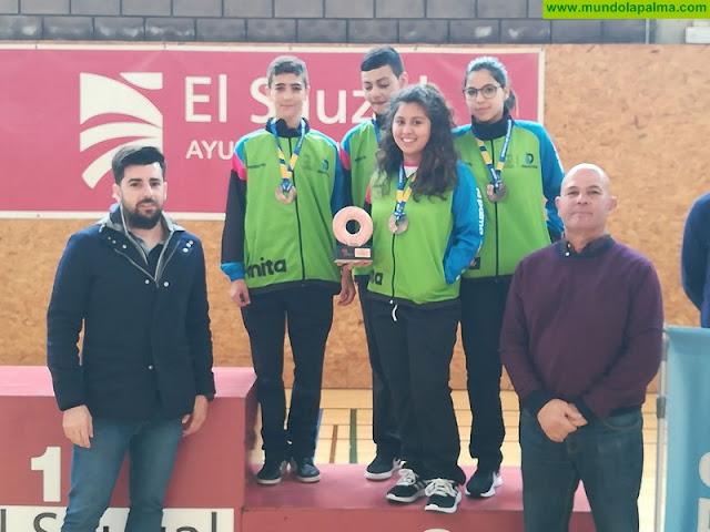 Las selecciones palmeras vuelven de los Campeonatos de Canarias con nueve oros, cinco platas y catorce bronces