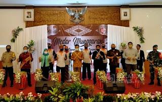 KPU Kabupaten Sukabumi launching pilkada serentak 2020