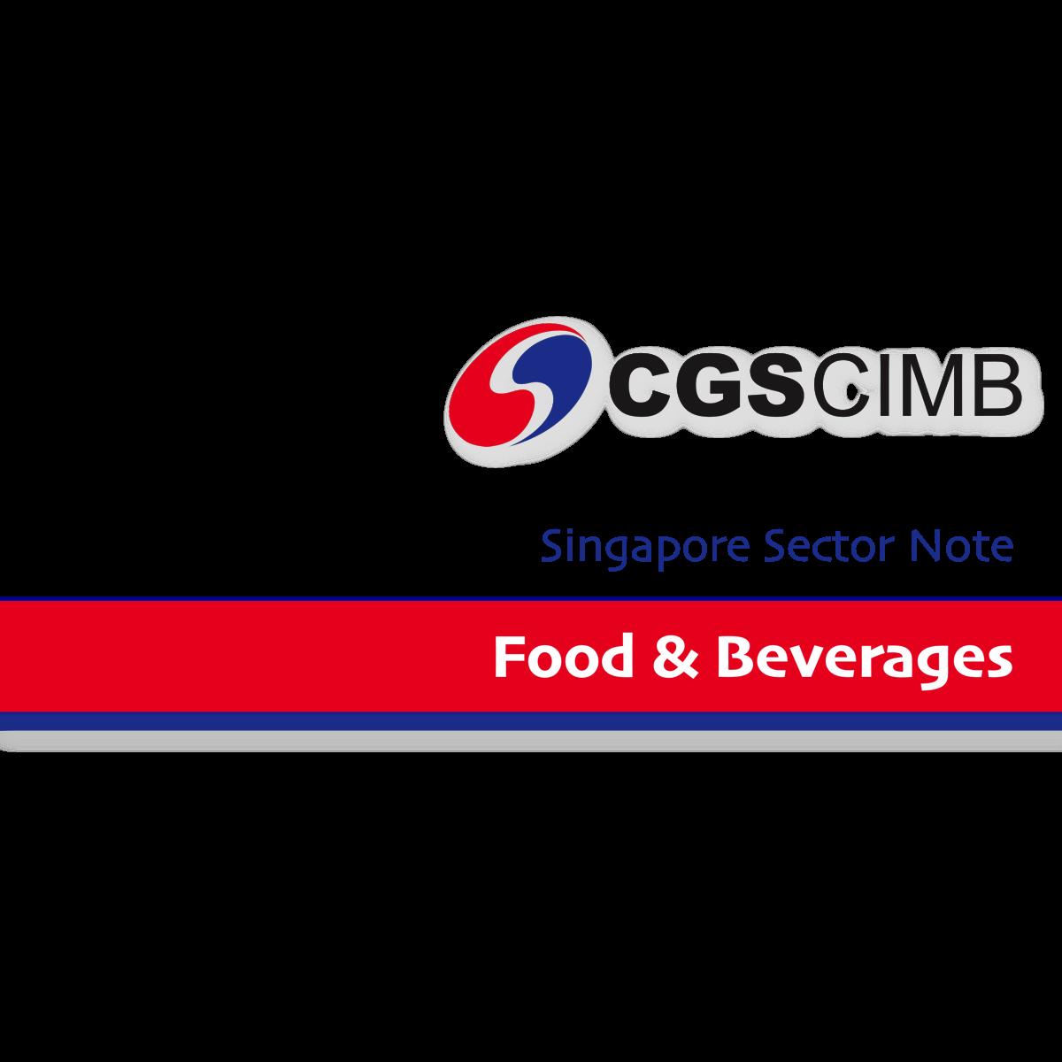 Singapore F&B Sector - CGS-CIMB Research   SGinvestors.io