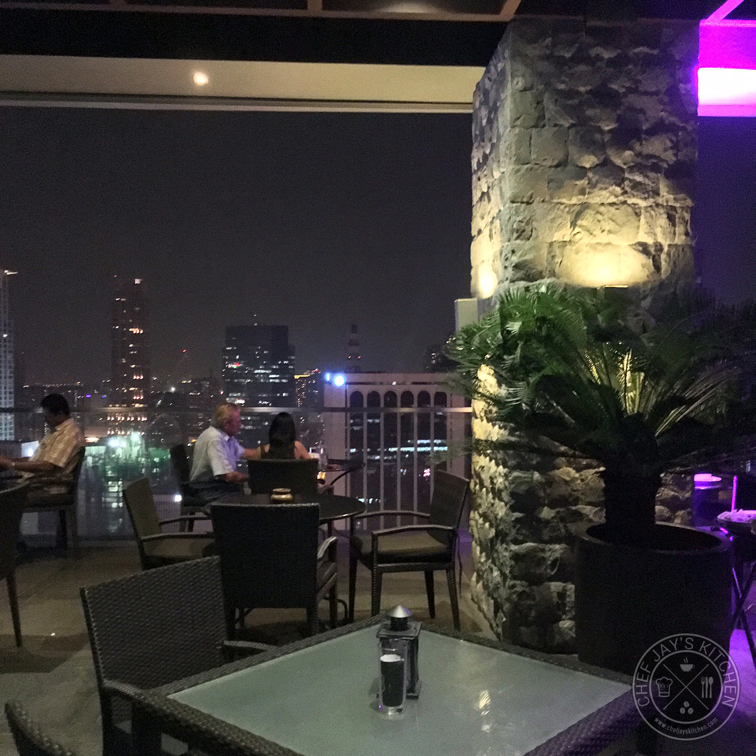 The Firefly View Deck, Located At The Rooftop Of City Garden Grand Hotel,  Is Popular For Its View Of The Beautiful Makati Skyline 32 Floors High.