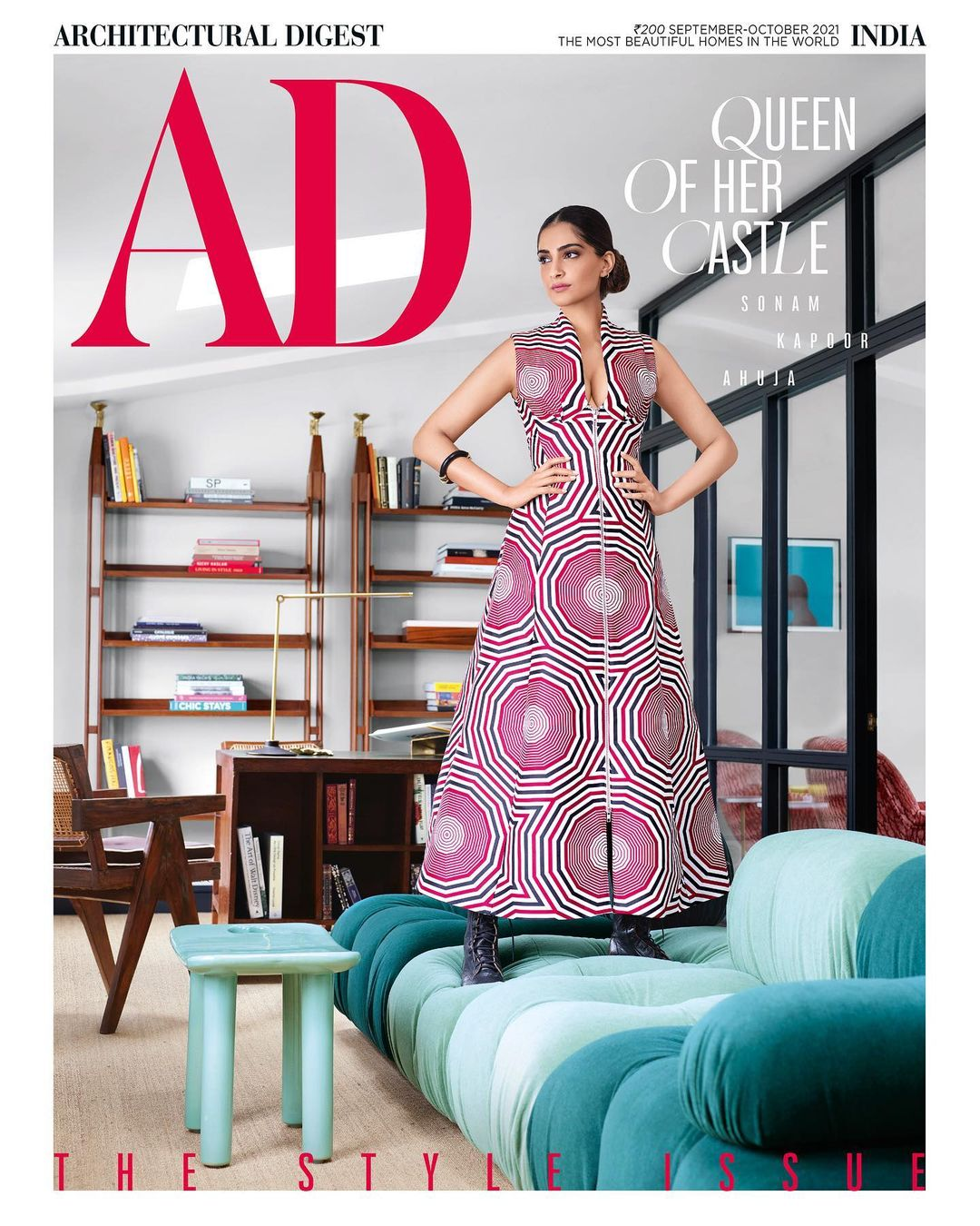 Sonam Kapoor opens doors to London home for Architectural Digest India