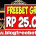 Freebet Gratis Rp 25.000 tanpa Deposit l indolasvegas l blogfreebet