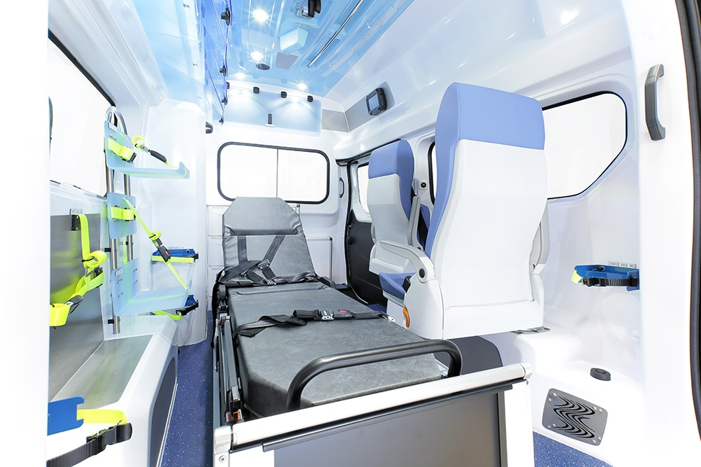 Transport de malades assis en VSL Romainville