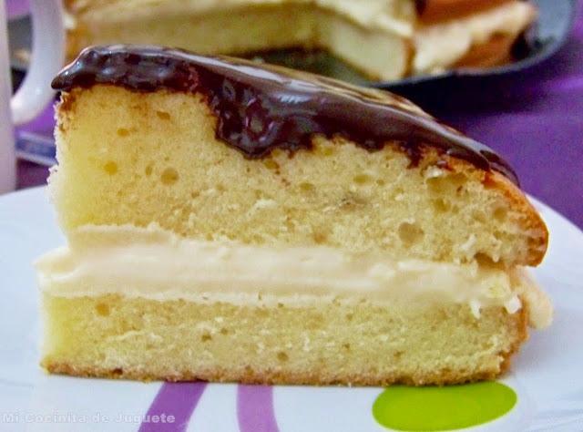 Boston Cream Pie (Pastel de Crema de Boston)