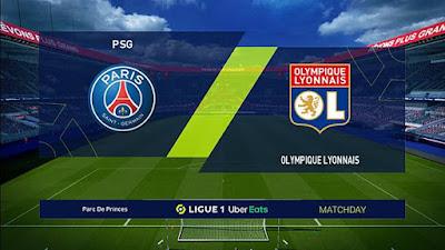 Scoreboard Ligue 1 Uber Eats