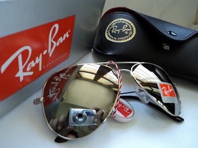 ray ban aviator mercury sunglasses