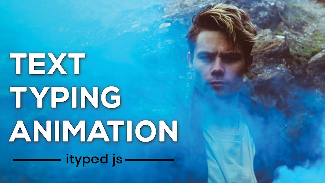 Awesome Text Typing Effect with iTyped js