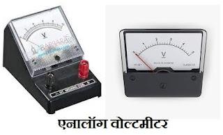 Voltmeter in Hindi