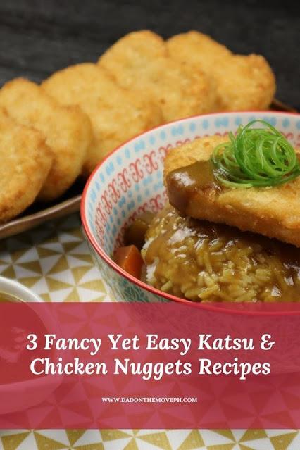 Fancy katsu and chicken nuggets recipes
