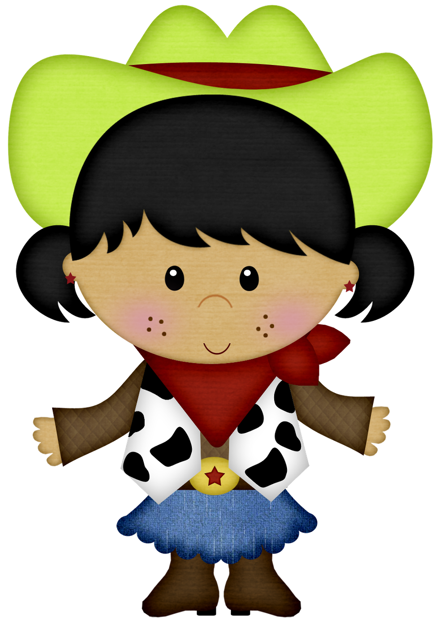 Little Cowboys Clipart | Oh My Fiesta! in english