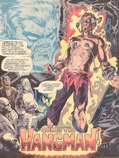 Werewolf by Night #11, splash page