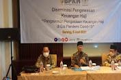Menjawab Keresahan Soal Pembatalan Haji BPKH dan Komisi VIII DPR RI Gelar Diseminasi Tentang Dana Haji