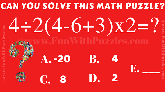 It is quick calculated math puzzle for kids in which you have to solve the given math equation as quickly as possible