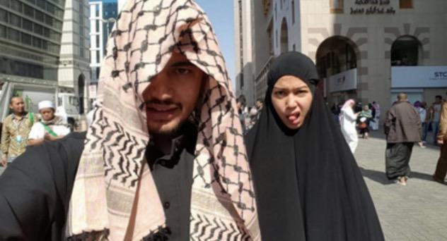 Penjelasan Sharifah Sakinah Isu Aksi Tidak Sopan di Mekah