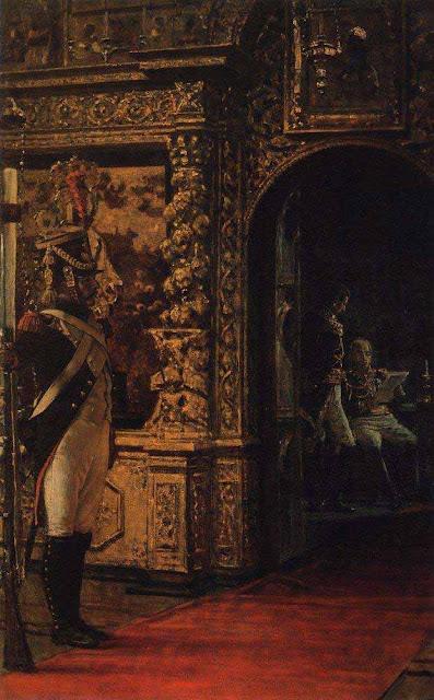 Василий Васильевич Верещагин - Маршал Даву в Чудовом монастыре. 1900