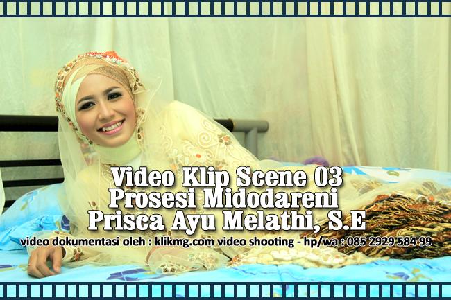 Video Klip Midodareni Prisca Ayu Melathi, S.E dengan Bowo dari Ki Guntur Madu  | Video dikerjakan oleh KLIKMG Video Shooting Purwokerto