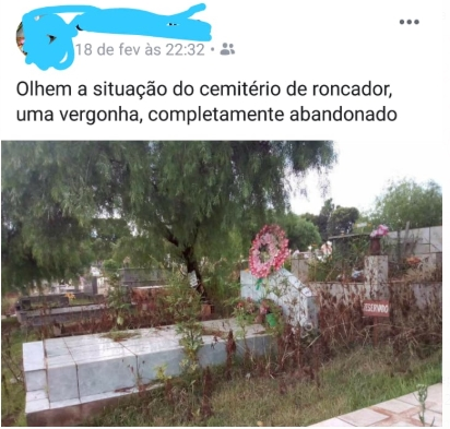 Roncador: Cemitério abandonado!