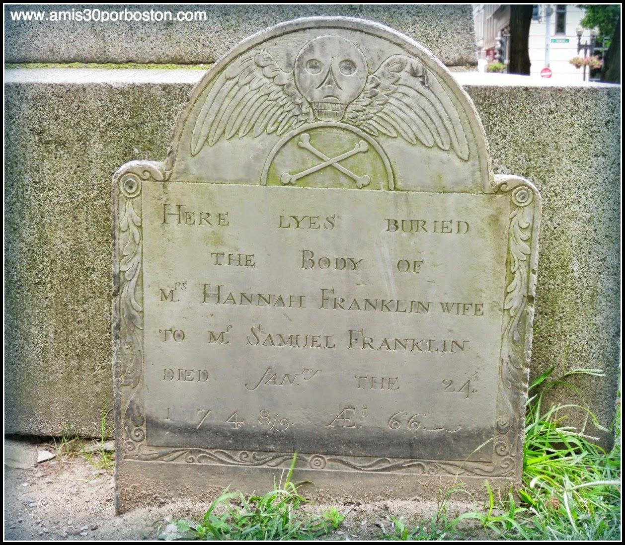 Familiares de Bejamin Franklin